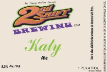 2nd Shift Katy Brett Beer 4pk Cans