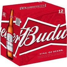 Bud Bottles 12pk