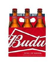 Bud Bottles 6pk