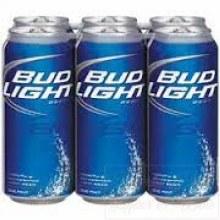 Bud Light 6pk Cans