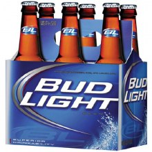 Bud Light Bottles 6pk
