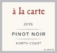A la Carte Pinot Noir 750ml