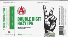 Averys Double Digit Hazy IMP IPA 6pk Cans