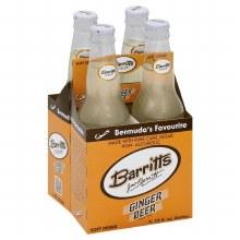 Barritts Ginger Beer 4pk Bottle