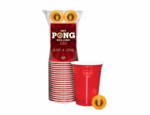 Beer Pong Cup Set