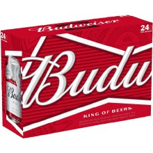 Bud Cans 24-pk