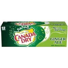 Canada Dry Ginger Ale 12pk CANS