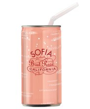 Coppola Sofia Brut Rose 4pk Cans