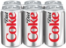 Diet Coke 6pk CANS