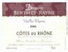 Berthet Rayne Côtes du Rhône Blanc 750ml
