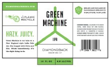 Diamond Back Green Machine 4pk Cans