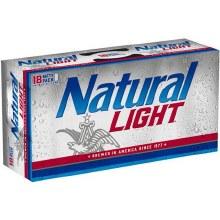 Natural Light 12 oz 18 pk CANS
