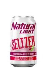 Natural Light Catalina Lime Seltzer 12pk Cans