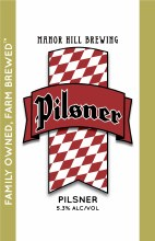 Manor Hill Pilsner 6pk Cans