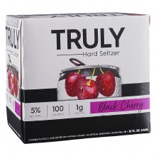 Truly Black Cherry 6pk Can