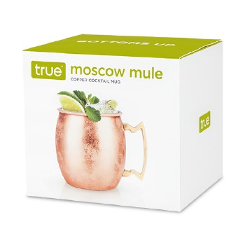 True Moscow Mule Copper Mug