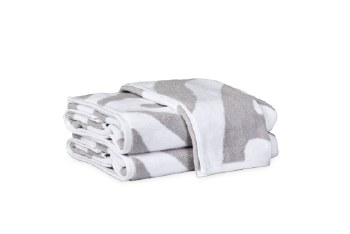 FOSSEY HAND TOWEL - SILVER