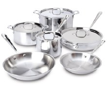 STAINLESS 10 PIECE SET