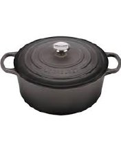 5.5 QT ROUND DUTCH OVEN OYSTER