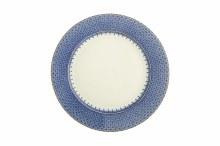 BLUE LACE DESSERT PLATE