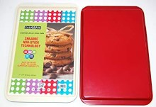 CERAMIC COOKIE SHEET 11X17 RED
