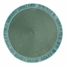 MONSTERA GREEN ROUND PLACE MAT