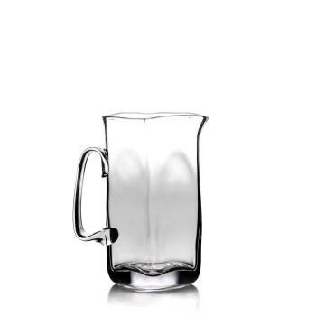 WOODBURY GLASS PITCHER LARGE