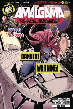 Amalgama Space Zombie #1 Cvr D Maccagni Risque (Mr)