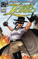 Lady Zorro #1 Cvr B Swashbuckling Watts