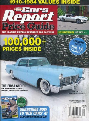 Old Car Price Guide