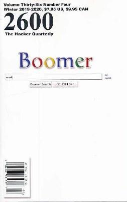 2600 Hackers Quarterly