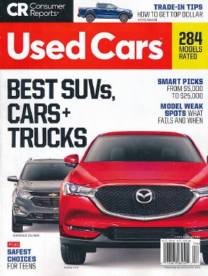 Consumer Reports- Buying Guide