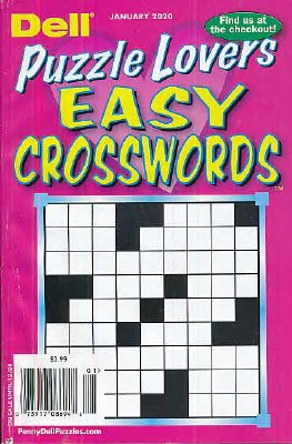 Dell Puzzle Lovers Easy Crosswords
