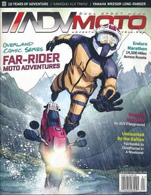 Adventure Motorcycle