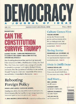 Democracy, A Journal Of Ideas