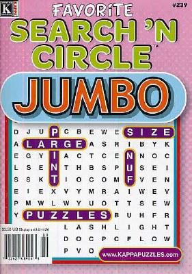 Favorite Search 'N Circle Jumbo