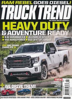 Motor Trend Truck Trend