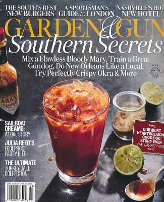 Garden & Gun Subscription