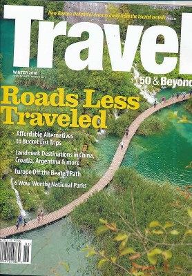 Travel 50 & Beyond Subscription