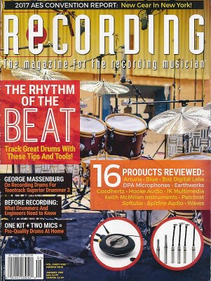 Recording Magazine Subscription