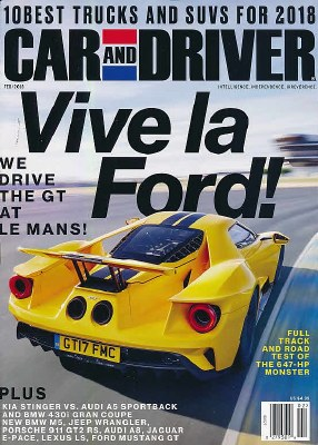 Car and Driver Subscription