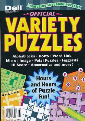 Dell Official Variety Puzzles  Subscription