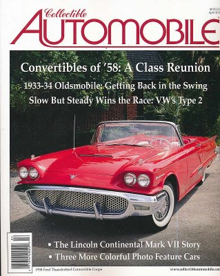 Collectible Automobile Subscription