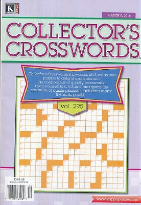 Collector's Crosswords Subscription