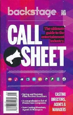 Call Sheet Subscription