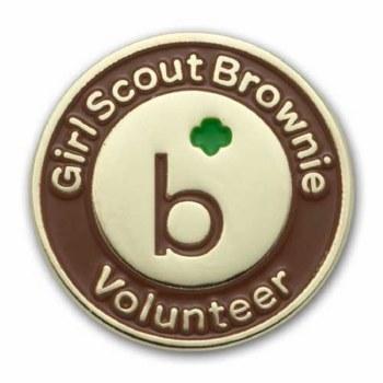 Brownie Volunteer Pin