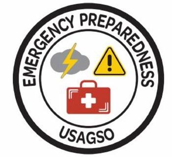 USAGSO Emergency Preparedness Fun Patch