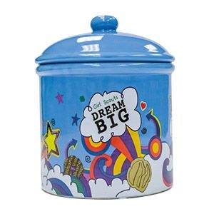 Girl Scout Cookie Jar Dream Big