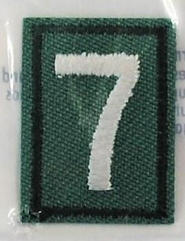 Junior, Cadette, Senior, & Ambassador Troop Numeral Iron On Patch