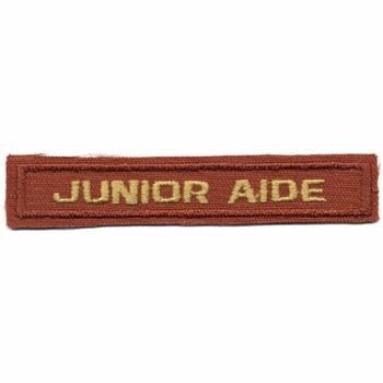 Junior Aide Award Patch